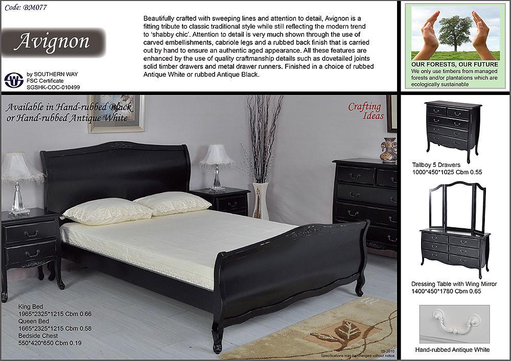 Southern Way Enchanting Avignon Bedroom Furniture